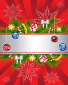 Christmas background — ストックベクタ