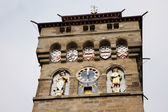 Clock Tower of Cardiff Castle — Stock Photo