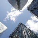 Canary Wharf Skyline — Stock Photo #10971594