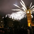 New Year's Eve Fireworks - Stock Photo