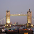 Tower Bridge at dusk — Stock Photo #10974386
