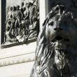 Royalty-Free Stock Photo: Lion statue  in Trafalgar Square