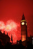 New Year's Eve Fireworks — Stock Photo