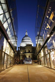 St Paul's Cathedral at Night — Stock Photo