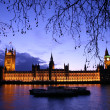 Westminster at dusk — Stock Photo