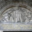 Stock Photo: Relief of Basilicof Sacred Heart of Paris