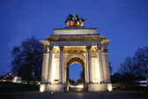 The Wellington Arch at Night — Stock Photo