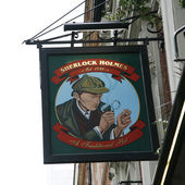 English pub sign — Stock Photo