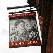 English pub sign — Stock Photo