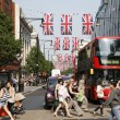 Queen's Diamond Jubilee decoration, Oxford Street — Stock Photo #11092717