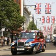 Queen's Diamond Jubilee decoration, Oxford Street — Stock Photo