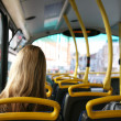 Stock Photo: Bus Commuter
