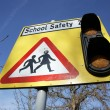 School Safety Zone — Stock Photo