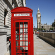 Big Ben and Red Telephone Booth — Stock Photo #11281280