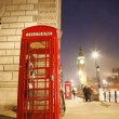 London Telephone Booth and Big Ben — Stock Photo #11281767