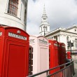 London Telephone Booth — Foto Stock