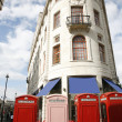 London Telephone Booth — Stok fotoğraf