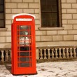 London Telephone Booth — Stock Photo #11283644