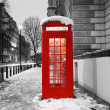 London Telephone Booth — Stock Photo #11301656