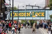 Camden Town, Market, London — Stock Photo