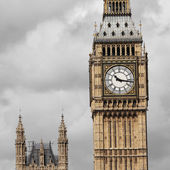 Big Ben seen from South Bank — Stock Photo
