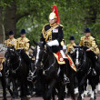 2012, Trooping the color — Stock Photo