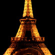 Stock Photo: Eiffel Tower at Night