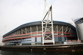 Cardiff Millennium Stadium — Stock Photo
