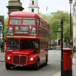 London Route Master Bus - Stock Photo