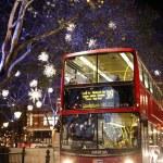 Christmas Lights in London — Stock Photo