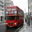 Stock Photo: London Route Master Bus