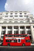 London Dobule Decker Bus — Stock Photo
