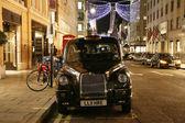 Taxi alla bond street — Foto Stock