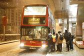 Snow cause travel trouble — Stock Photo