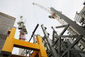 Sitio de construcción de gran altura — Foto de Stock