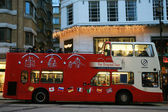 Bus tour di sommità city, londra — Foto Stock
