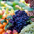 Fresh fruits and vegetables market — Stock Photo