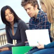 Multicultural College Students — Stock Photo #11446019