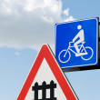 Bike signals for the sky — Stock Photo