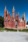 Cemetery gate — Stock Photo