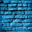 Blue stone wall - Foto Stock
