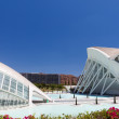 Valencia Hemispheric - City of Arts and Science — Stock Photo