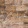 Stock Photo: Old provencal stone wall background