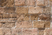 Old provencal stone wall background — Stock Photo