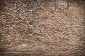 Texture molto vecchio muro di pietra con bordi scuri — Foto Stock