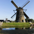Kinderdjik windmills in Holland — Stock Photo