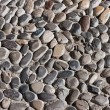 Stock Photo: Pebbles stone road texture