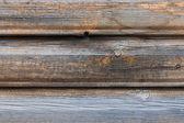 Staré zvětralé dřevo zeď pozadí — Stock fotografie