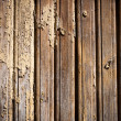 Photo: Old weathered painted wood wall background