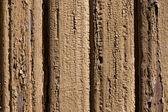 Stary wyblakły malowane ścienne z drewna — Zdjęcie stockowe